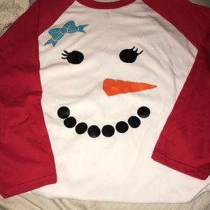 Tops - Snowman shirt